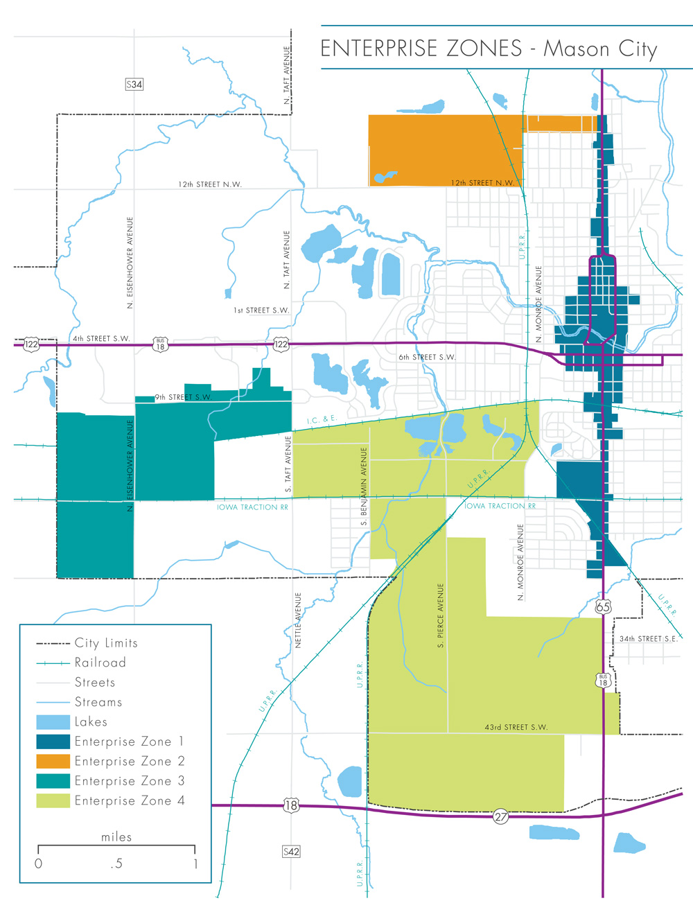 Incentive Maps  North Iowa Corridor